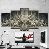 Assassin's Creed 70 Odyssey 5 Piece Canvas Wall Art Gaming Canvas