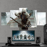 Assassin's Creed 88 - 5 Piece Canvas Wall Art Gaming Canvas