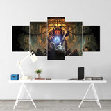 Battlefleet Gothic 01 - 5 Piece Canvas Wall Art Gaming Canvas