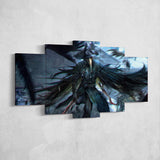 Bloodborne 02 - 5 Piece Canvas Wall Art Gaming Canvas