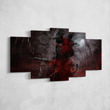 Bloodborne 03 - 5 Piece Canvas Wall Art Gaming Canvas