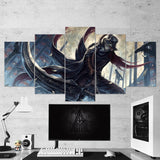 Bloodborne 06 - 5 Piece Canvas Wall Art Gaming Canvas