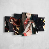 Bloodborne 10 - 5 Piece Canvas Wall Art Gaming Canvas