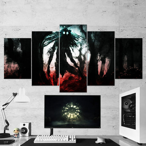 Bloodborne 22 - 5 Piece Canvas Wall Art Gaming Canvas