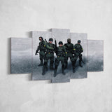 CS:GO Counter-Strike: Global Offensive 06 - 5 Piece Canvas Wall Art Gaming Canvas