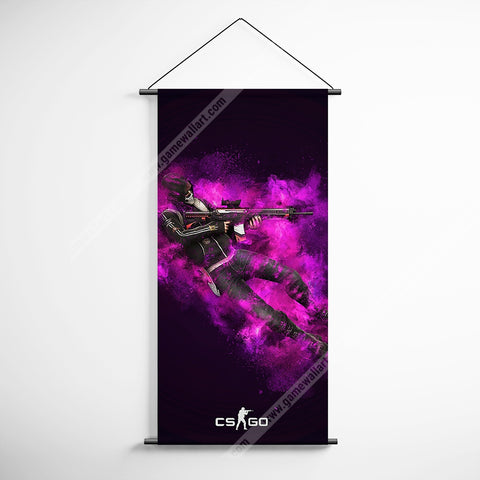 CSGO 13 Counter Strike Global Offensive Decorative Banner Flag for Gamers