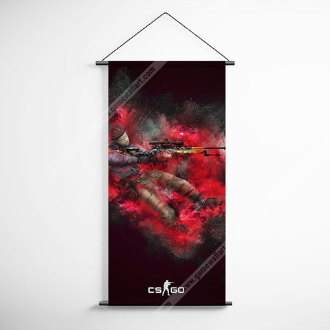CSGO 15 Counter Strike Global Offensive Decorative Banner Flag for Gamers