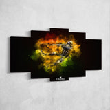 CS:GO Counter-Strike: Global Offensive 16 - 5 Piece Canvas Wall Art Gaming Canvas