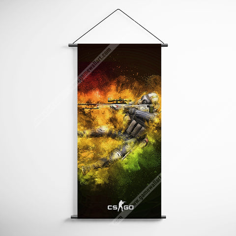 CSGO 16 Counter Strike Global Offensive Decorative Banner Flag for Gamers