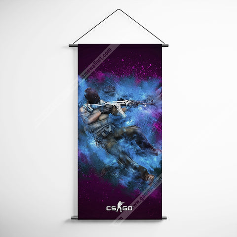 CSGO 17 Counter Strike Global Offensive Decorative Banner Flag for Gamers