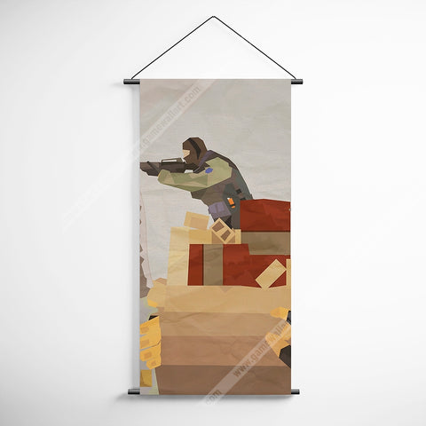 CSGO 18 Counter Strike Global Offensive Minimalism Decorative Banner Flag for Gamers