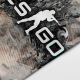 CSGO 20 Counter Strike Global Offensive Logo Decorative Banner Flag for Gamers