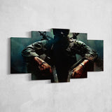 Call Of Duty 5 Piece Canvas Wall Art Gaming Canvas 5PCCOD016