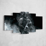 Call Of Duty 5 Piece Canvas Wall Art Gaming Canvas 5PCCOD023