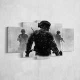 Call Of Duty 5 Piece Canvas Wall Art Gaming Canvas 5PCCOD024