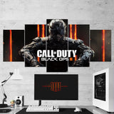 Call Of Duty Black Ops 3 - 5 Piece Canvas Wall Art Gaming Canvas 5PCCOD002