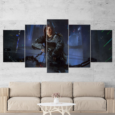 Call Of Duty Black Ops 3 - 5 Piece Canvas Wall Art Gaming Canvas 5PCCOD021