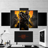 Call Of Duty Black Ops 4 - 5 Piece Canvas Wall Art Gaming Canvas 5PCCOD006