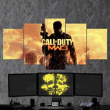 Call Of Duty Modern Warfare 3 - 5 Piece Canvas Wall Art Gaming Canvas 5PCCOD007