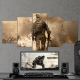 Call Of Duty Modern Warfare 5 Piece Canvas Wall Art Gaming Canvas 5PCCOD010