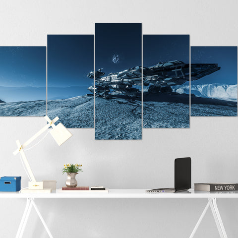 Star Citizen Canvas Wall Art - Constellation Andromeda Canvas Wall Art - Star Citizen Canvas Print - 5 Piece Canvas Wall Art Star Citizen Poster 05