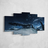 Star Citizen Canvas Wall Art - Constellation Andromeda Canvas Wall Art - Star Citizen Canvas Print - 5 Piece Canvas Wall Art Star Citizen Poster 11