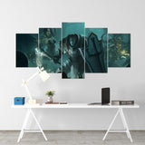 Diablo 04 - 5 Piece Canvas Wall Art Gaming Diablo Canvas
