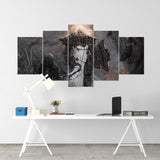 Diablo 06 - 5 Piece Canvas Wall Art Gaming Diablo Canvas