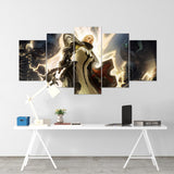 Diablo 10 - 5 Piece Canvas Wall Art Gaming Diablo Canvas