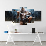 Diablo 26 - 5 Piece Canvas Wall Art Gaming Diablo Canvas