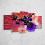Dota Canvas Wall Art 05 - Dota Poster - 5 Piece Canvas Wall Art - Dota 2 Wall Art - Dota Wall Hang