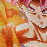 Dragon Ball 04 Goku Anime 5 Piece Canvas Wall Art Gaming Canvas