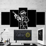 Fallout 01 - 5 Piece Canvas Wall Art Gaming Canvas