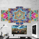 Far Cry 01 Abstract 5 Piece Canvas Wall Art Gaming Canvas