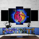 Fortnite 108 Rabbit Raider 5 Piece Canvas Wall Art Gaming Canvas
