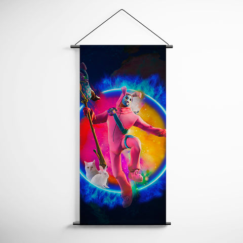 Fortnite 108 Rabbit Raider Decorative Banner Flag for Gamers