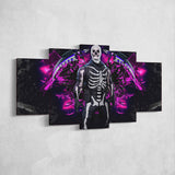 Fortnite 109 Skull Trooper 5 Piece Canvas Wall Art Gaming Canvas
