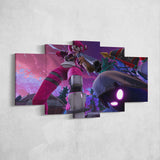Fortnite 110 Cuddle Team Leader and Raven 5 Piece Canvas Wall Art Gaming Canvas