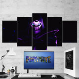 Fortnite 116 Enforcer 5 Piece Canvas Wall Art Gaming Room Canvas