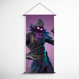 Fortnite 25 Raven Decorative Banner Flag for Gamers