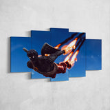 Fortnite Love Ranger 29 - 5 Piece Canvas Wall Art Gaming Canvas