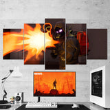 Fortnite Raven 31 - 5 Piece Canvas Wall Art Gaming Canvas