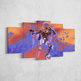 Fortnite Venturion 33 - 5 Piece Canvas Wall Art Gaming Canvas