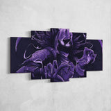 Fortnite Raven 60 - 5 Piece Canvas Wall Art Gaming Canvas