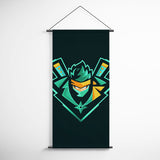 Fortnite 63 Ninja Logo Decorative Banner Flag for Gamers