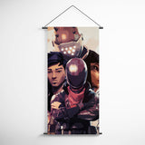 Fortnite 84 Burnout - Shadow Ops And Rrust Lord Decorative Banner Flag for Gamers