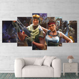 Fortnite 89 Save The World 5 Piece Canvas Wall Art Gaming Canvas