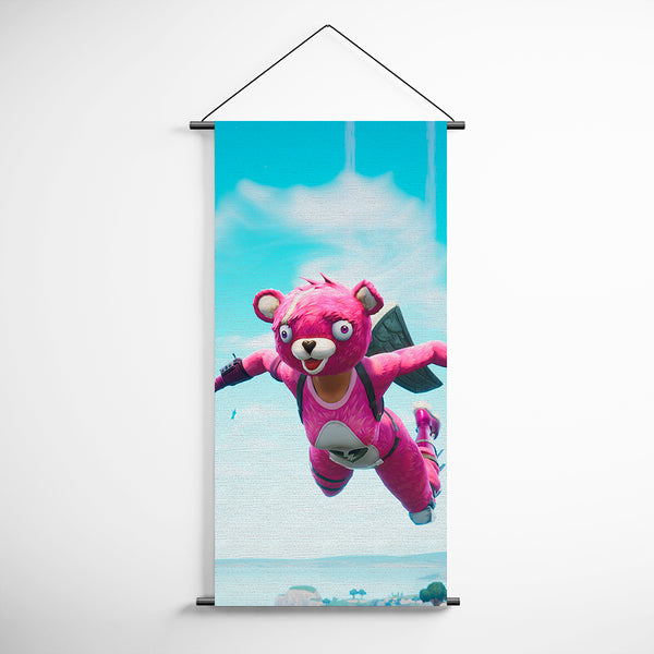 Fortnite 91 Cuddle Team Leader Skydive Decorative Banner Flag for Gamers
