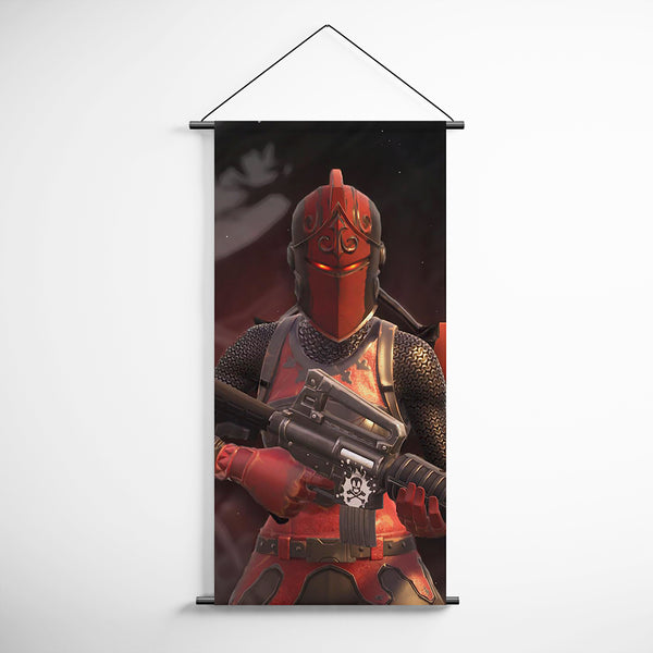 Fortnite 95 Red Knight Decorative Banner Flag for Gamers