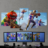 Fortnite 96 - 5 Piece Canvas Wall Art Gaming Canvas